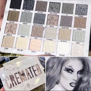 COPY - Jeffree Star cremated eye shadow palette